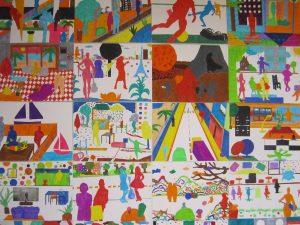 Travail d'après Matisse - pour les élèves de 3èmes